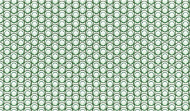 Simple Modern abstract green bubbles mesh  pattern Stock Images