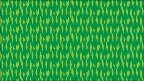 Simple Modern abstract green diamonds pattern Stock Images