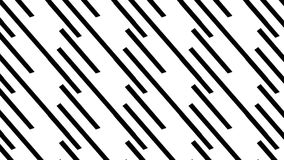 Simple Modern abstract long and short monochrome stripes  pattern Stock Images