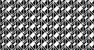 Simple Modern abstract monochrome zigzag grill pattern Stock Photography