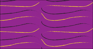 Simple Modern abstract purple fish  pattern Royalty Free Stock Images