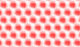 Simple Modern abstract red watercolor spot  pattern Royalty Free Stock Photos