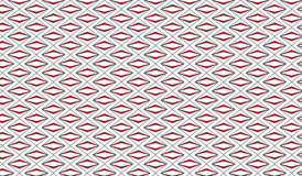 Simple Modern abstract red zigzag rhombus   pattern Stock Photography