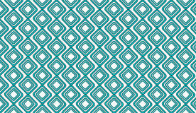 Simple Modern abstract teal tribal mesh tiles pattern royalty free illustration
