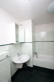 Simple modern bathroom. Picture of a simple bathroom Royalty Free Stock Photos