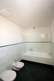 Simple modern bathroom. Picture of a simple modern bathroom Royalty Free Stock Image