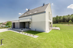 Simple modern house Royalty Free Stock Photography