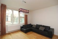 Simple modern living room Stock Photos