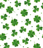 Simple modern pattern for St. Patrick's Day. Stock Photo