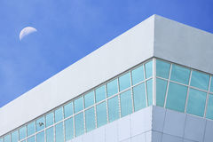 Simple modern stylish building Royalty Free Stock Photo