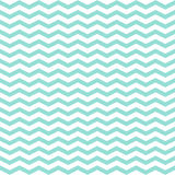 Simple modern trendy mint and white zigzag background Royalty Free Stock Photo