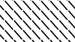 Simple monochrome dotted line  pattern Stock Images
