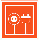 Electricity icon Royalty Free Stock Photo