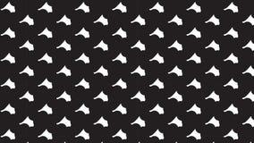 Simple monochrome fish pattern Stock Photos