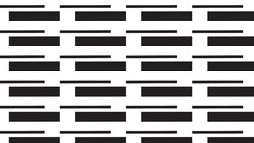 Simple monochrome line and rectangular pattern Royalty Free Stock Images