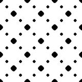 Simple monochrome polka dot minimalist pattern stock illustration