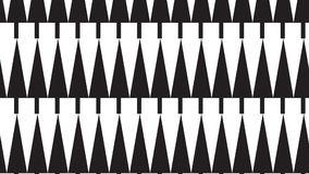 Simple monochrome tree pattern Stock Photography