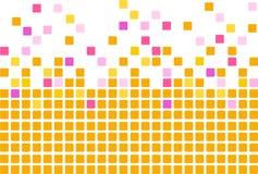 Simple mosaic background Stock Photos