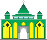 Simple Mosque Royalty Free Stock Photo
