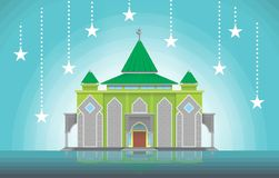 Simple Mosque Royalty Free Stock Photos
