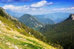 Simple mountains landscape Stock Photos