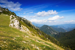 Simple mountains landscape Royalty Free Stock Images