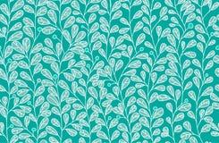 Simple natural motif seamless doodle pattern Stock Photos