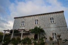 Simple Yet Noble House in Dubrovnik, Croatia. Simple Yet Noble House in Dubrovnik in Croatia Royalty Free Stock Image