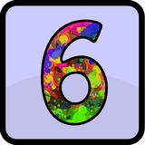 Number desain for all purpose royalty free stock photo