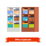 Simple office cupboards Royalty Free Stock Images