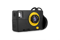 Simple old film camera Stock Images