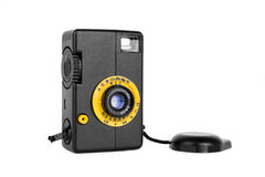 Simple old film camera Royalty Free Stock Images