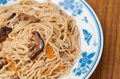 Simple Oriental jade noodles Stock Image