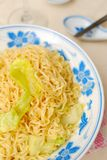 Simple oriental noodles Royalty Free Stock Images