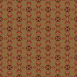 Simple ornament seamless pattern background. Concept stock illustration