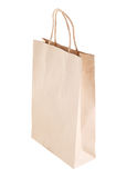Paper bag on white background Stock Photos
