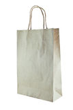 Paper bag on white background Royalty Free Stock Photos