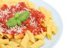 Simple Pasta Royalty Free Stock Photo