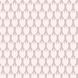 Simple pastel floral pattern for cute childish textile or scrapbooking background. Simple pastel floral pattern for cute childish and female, textile or Stock Image