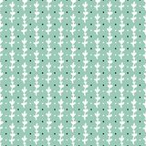 Simple pastel floral pattern for cute childish textile or scrapbooking background. Simple cute pale green pastel floral pattern background for childish and Stock Photos