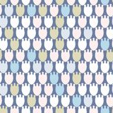 Simple pastel floral pattern for cute childish textile or scrapbooking background. Simple pastel floral pattern for cute childish and female textile or Royalty Free Stock Photo