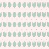 Simple pastel floral pattern for cute childish textile or scrapbooking background. Simple pastel floral pattern for cute childish and female textile or Stock Photos