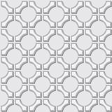 Simple pattern - geometric gray elements Royalty Free Stock Photo