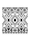 Simple Navajo Pattern Royalty Free Stock Image