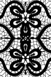 Simple pattern lace Royalty Free Stock Photography