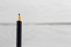 simple pencil on white background Stock Photography