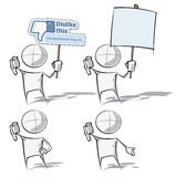 Simple People - Dislike Stock Image