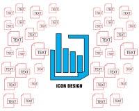 Simple perfecto del vector del diseño del icono de los datos gráficos libre illustration