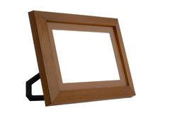 Simple photo frame Stock Image