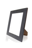 Simple Photo Frames. Modern Photo Frame over white background with reflection Royalty Free Stock Photography